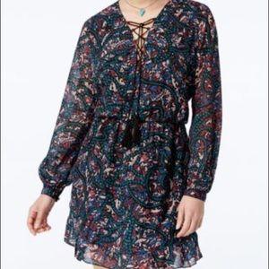 Jessica Simpson Kaylin A line Floral Peasa…